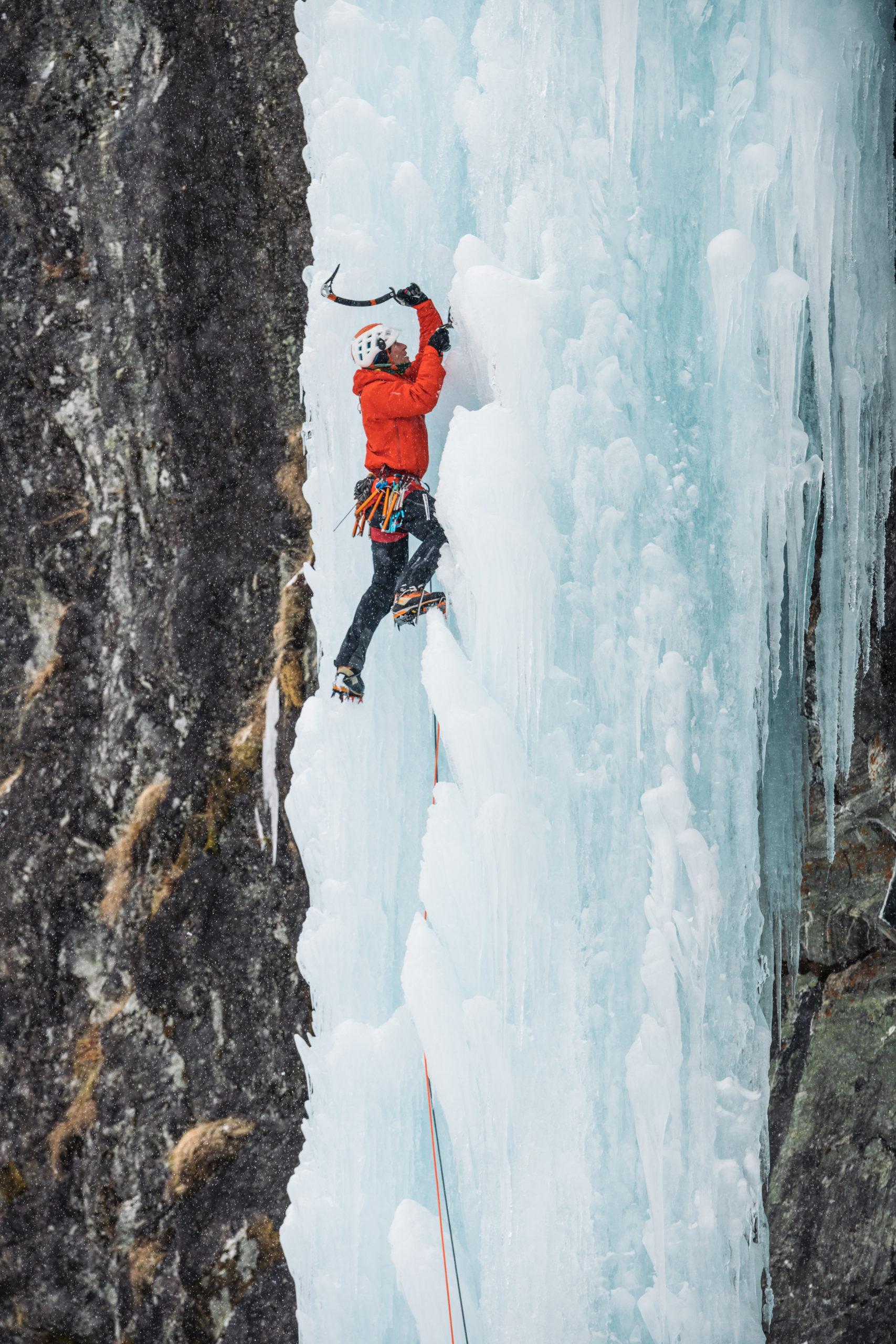 Ice Climbing at Gudvangen
