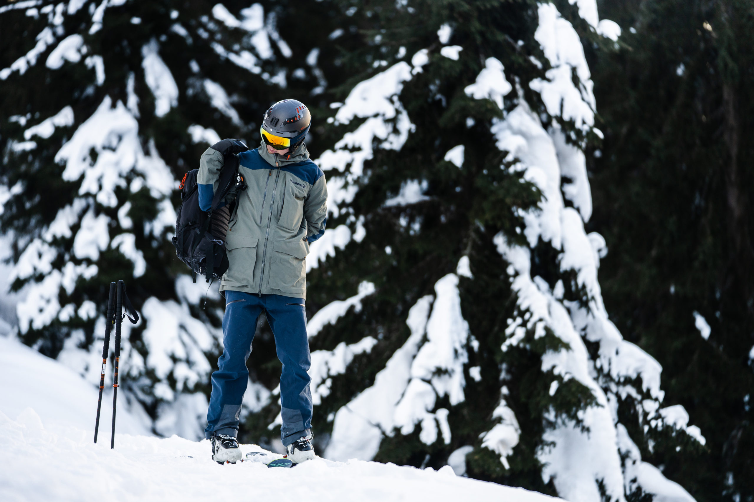Nikolai Schirmer skiing in St Anton, Austria. 22.05.19 This right is worldwide and minimum of 3 years and thereafter until right is withdrawn by Photographer.