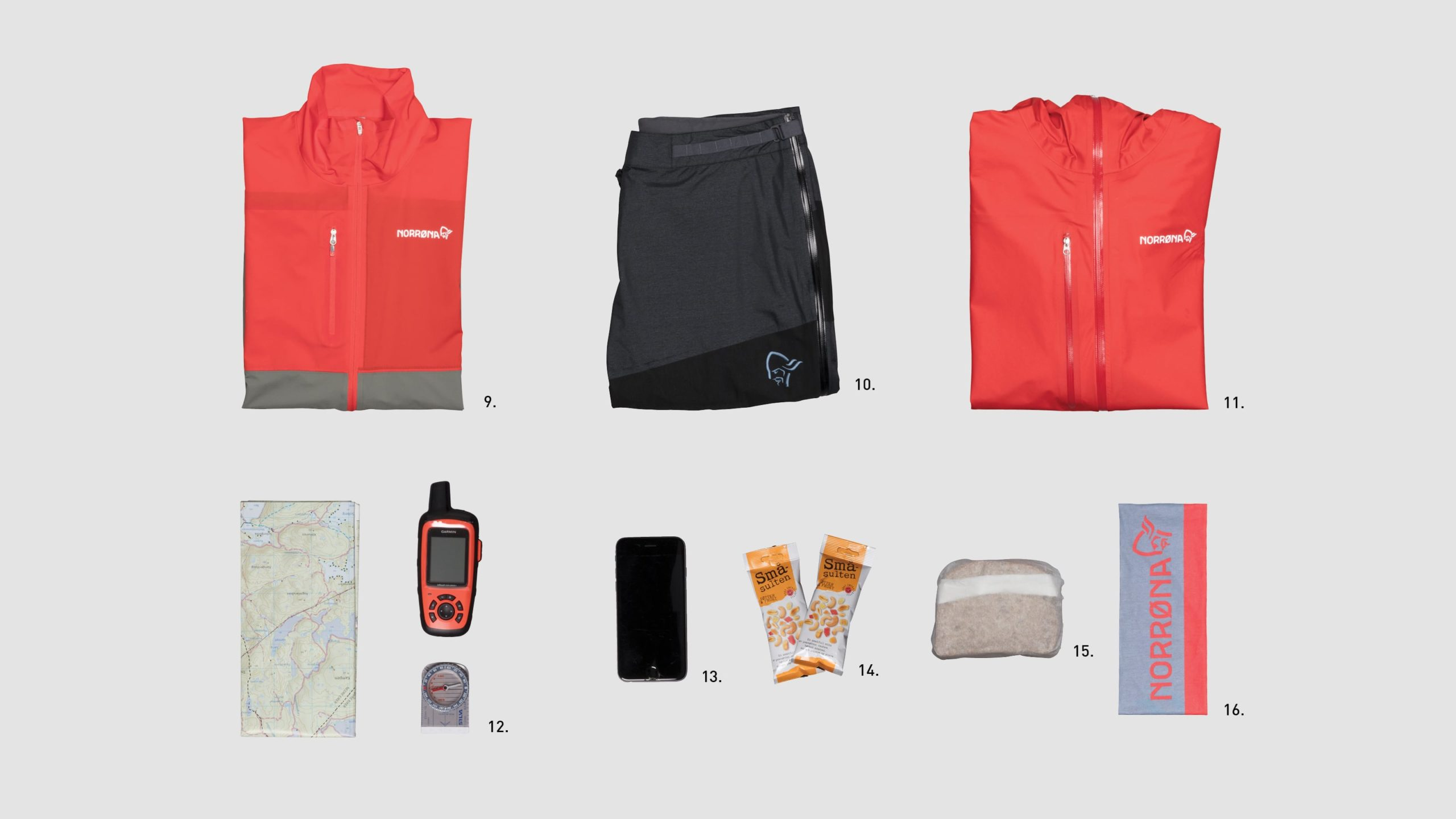 How to pack for mountaineering