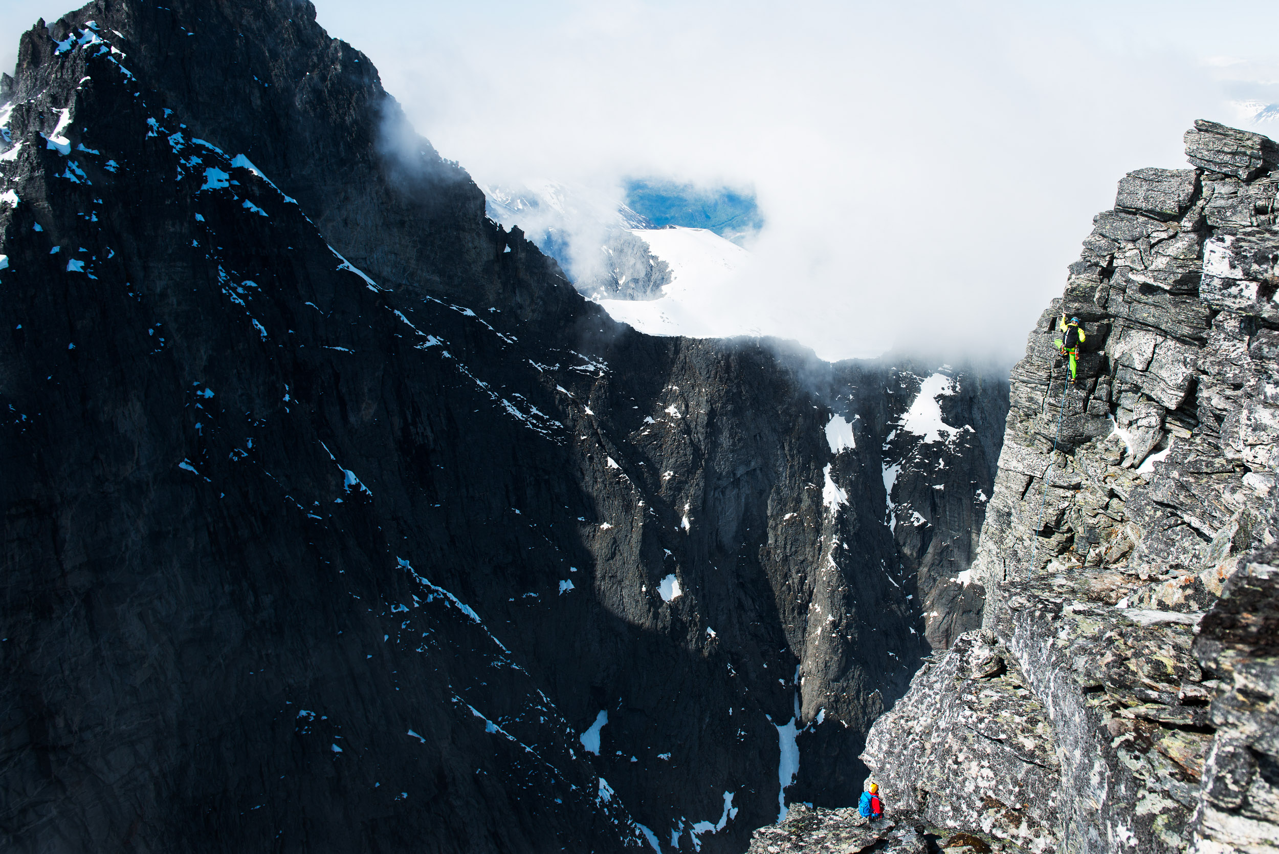 Swedish Route up Trollveggen